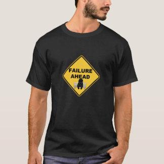 前方の失敗 Tシャツ