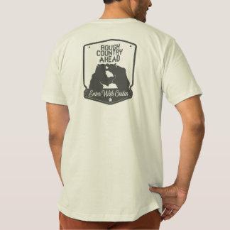 前方の荒い国 Tシャツ