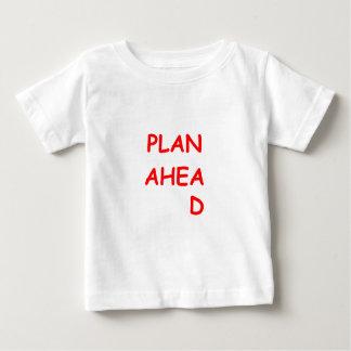 前方の計画 ベビーTシャツ