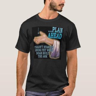 前方の計画 Tシャツ
