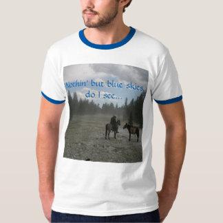 前方の青空 Tシャツ