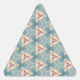 前方稲妻1 三角形シール