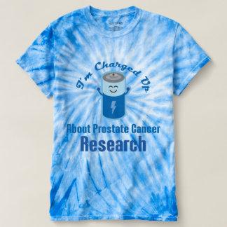 前立腺癌の研究サポートTシャツ Tシャツ