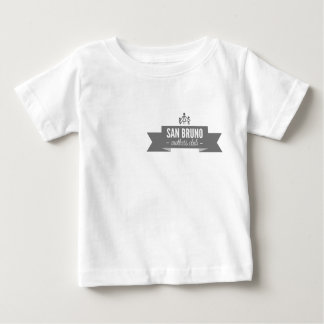 前部および背部のSBMCのロゴ ベビーTシャツ
