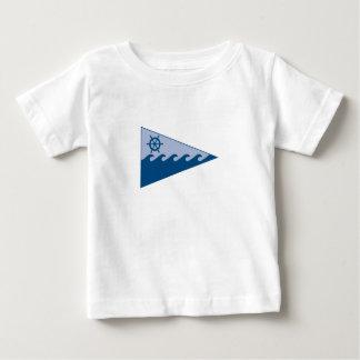 前部のburgeeのベビーのTシャツ#2 ベビーTシャツ