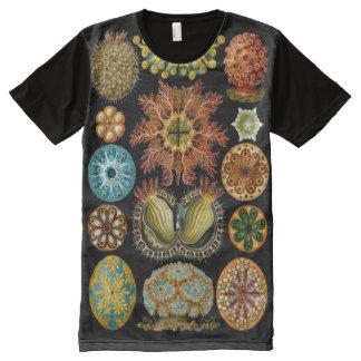 前部をくまなくHaekelの完全なプリント オールオーバープリントシャツ