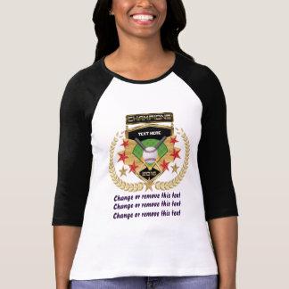 前部ソフトボールのチャンピオン Tシャツ