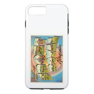 前部王室のなヴァージニアVAのヴィンテージ旅行郵便はがき iPhone 8 PLUS/7 PLUSケース