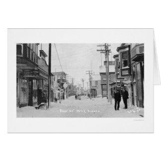 前部通りNome、アラスカ1912年 カード