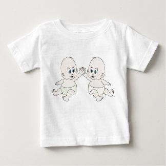 前部- binky背部のbabys ベビーTシャツ