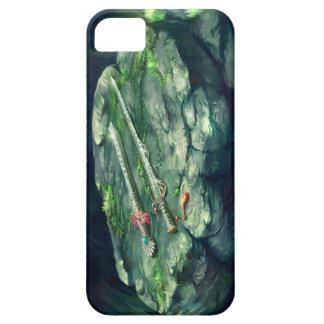 剣およびフルートのiPhoneの場合 iPhone SE/5/5s ケース