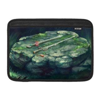 剣およびフルートのMacbookの空気袖 MacBook スリーブ