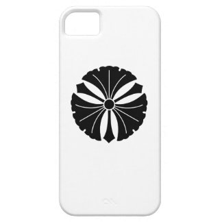 剣が付いている3つのイチョウの葉 iPhone SE/5/5s ケース