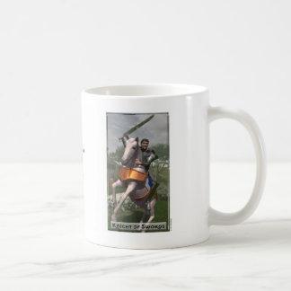 剣のマグの騎士 コーヒーマグカップ