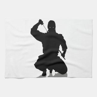 剣を持つ忍者 キッチンタオル