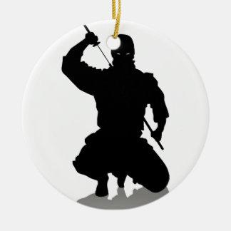 剣を持つ忍者 セラミックオーナメント