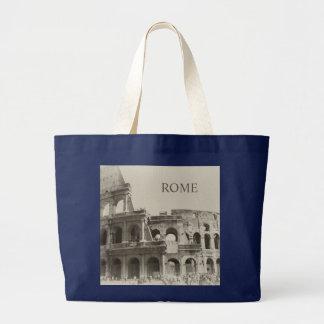 剣闘士のヴィンテージColosseum -ローマ ラージトートバッグ