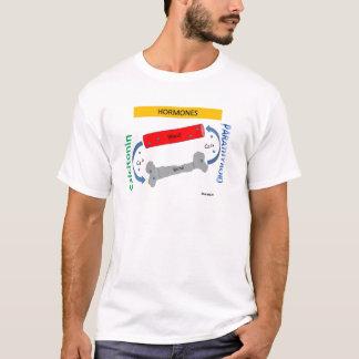 副甲状腺及びカルシトニン Tシャツ