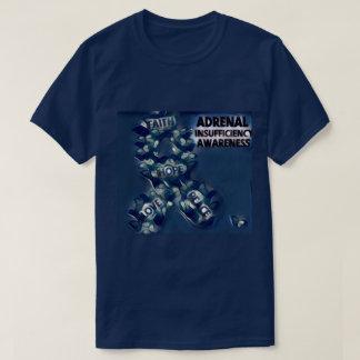 副腎の不十分の認識度 Tシャツ