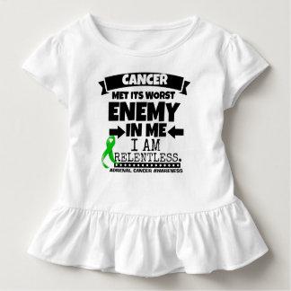 副腎の蟹座は私の最も悪い敵に会いました トドラーTシャツ