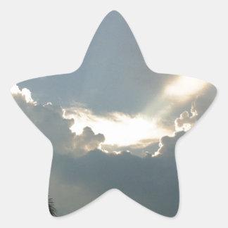 割り当てられてライトがあります! 星シール