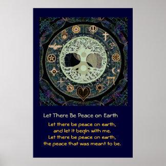 割り当てられて地球に平和があります ポスター