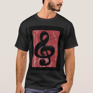 割り当てられて音楽があります Tシャツ