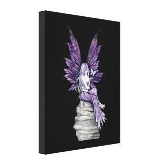 割り当てることは妖精および蝶キャンバスのプリント行きます キャンバスプリント