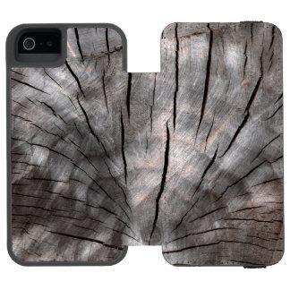 割れた丸太のiPhoneの場合 Incipio Watson™ iPhone 5 ウォレット ケース