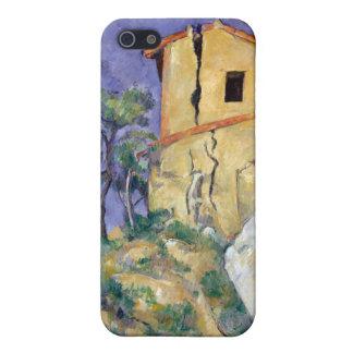 割れた壁が付いている家-ポールCézanne iPhone 5 Cover