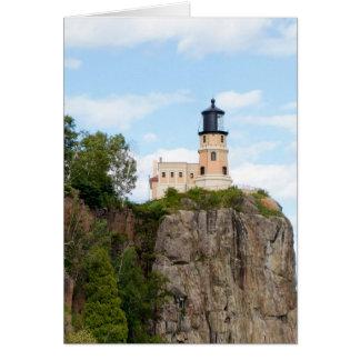 割れた石の灯台 カード