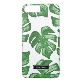 割れた葉のPhilodendronのカスタムなiPhone 8のプラスの場合 iPhone 8 Plus/7 Plusケース