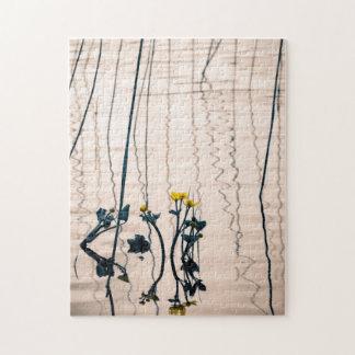 割れ目ある調子を与えられたkingcupの花 ジグソーパズル