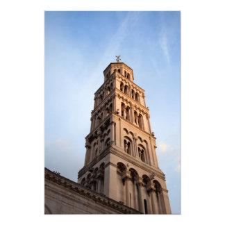 割れ目の聖者のDomnius鐘桜のカテドラル フォトプリント