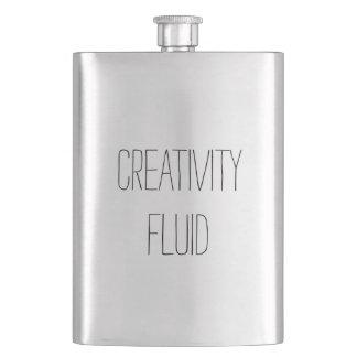 創造性の流動おもしろいでクラシックなおもしろいの鋼鉄フラスコ フラスク