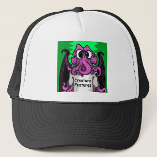 創造物はCthulhuを特色にするロゴのワイシャツを特色にします キャップ