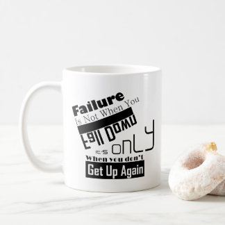 創造的で感動的な向くこと コーヒーマグカップ