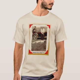 創造的なゴルファー Tシャツ
