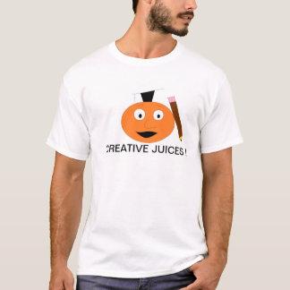 創造的なジュース Tシャツ