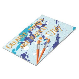 創造的なノート ノートパッド