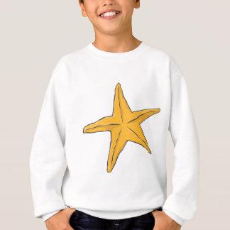 創造的なヒトデ スウェットシャツ