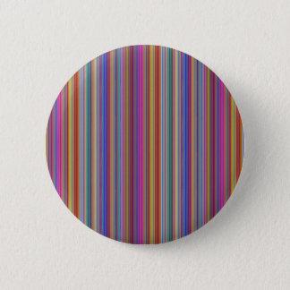 創造的な背景の多彩なラインストライプなgraphi 缶バッジ