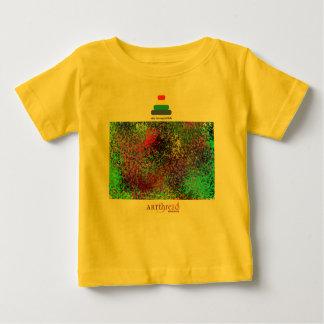 創造的な表現のための幼児Tシャツ ベビーTシャツ