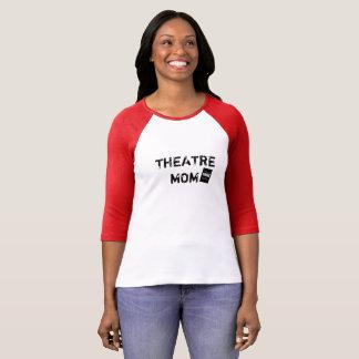劇場のお母さんの野球のTシャツ Tシャツ