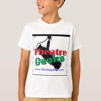 劇場のギークのロゴの衣服 Tシャツ