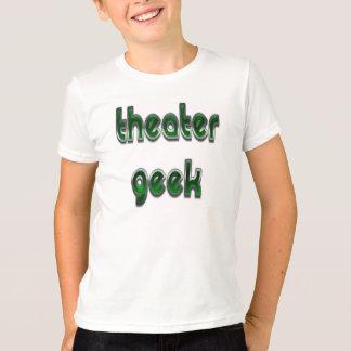 劇場のギークの緑 Tシャツ