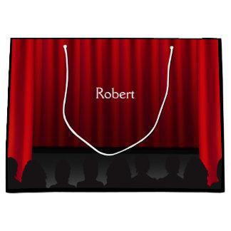 劇場のステージのカーテンの性能のカスタムLG GB ラージペーパーバッグ