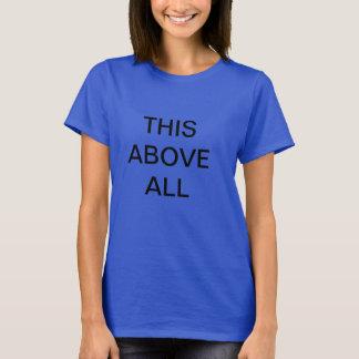 劇場のモットーのTシャツ Tシャツ