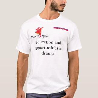 劇場の宇宙Caulfields Tシャツ