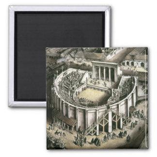 劇場の復元、ローマの2世紀 マグネット